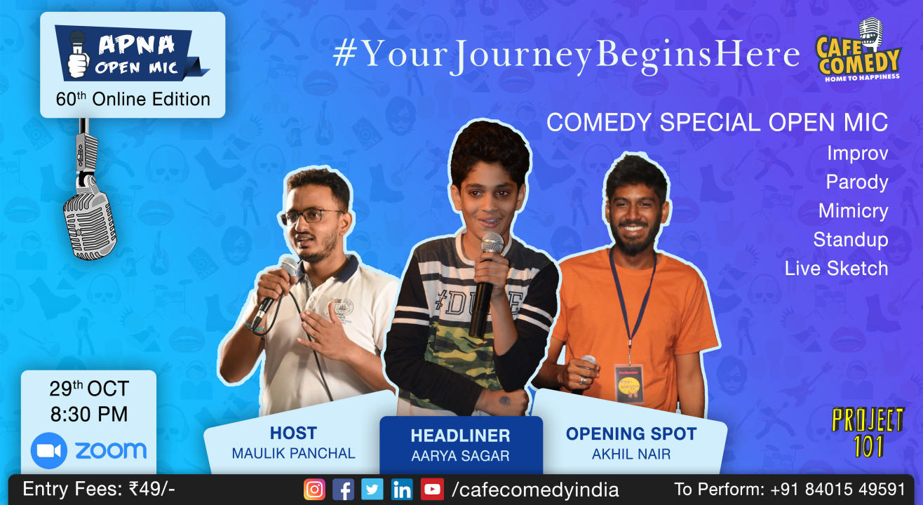 Apna Open Mic (Comedy Special - 60th Online Edition)