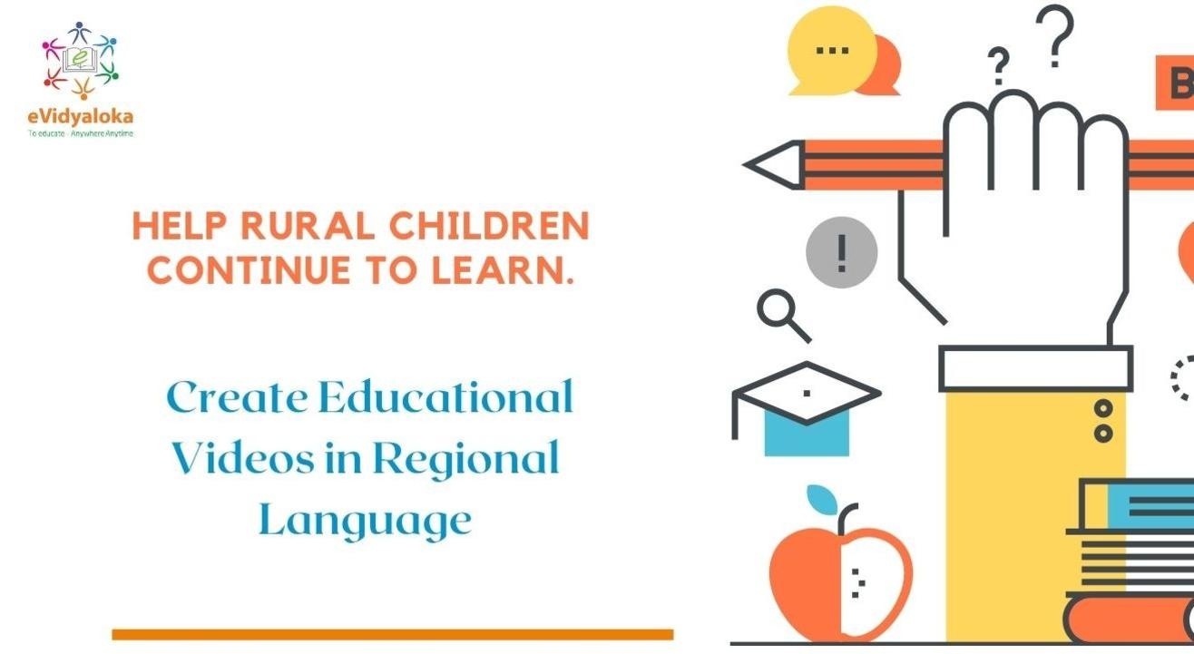 Create Educational Videos in Regional Languages