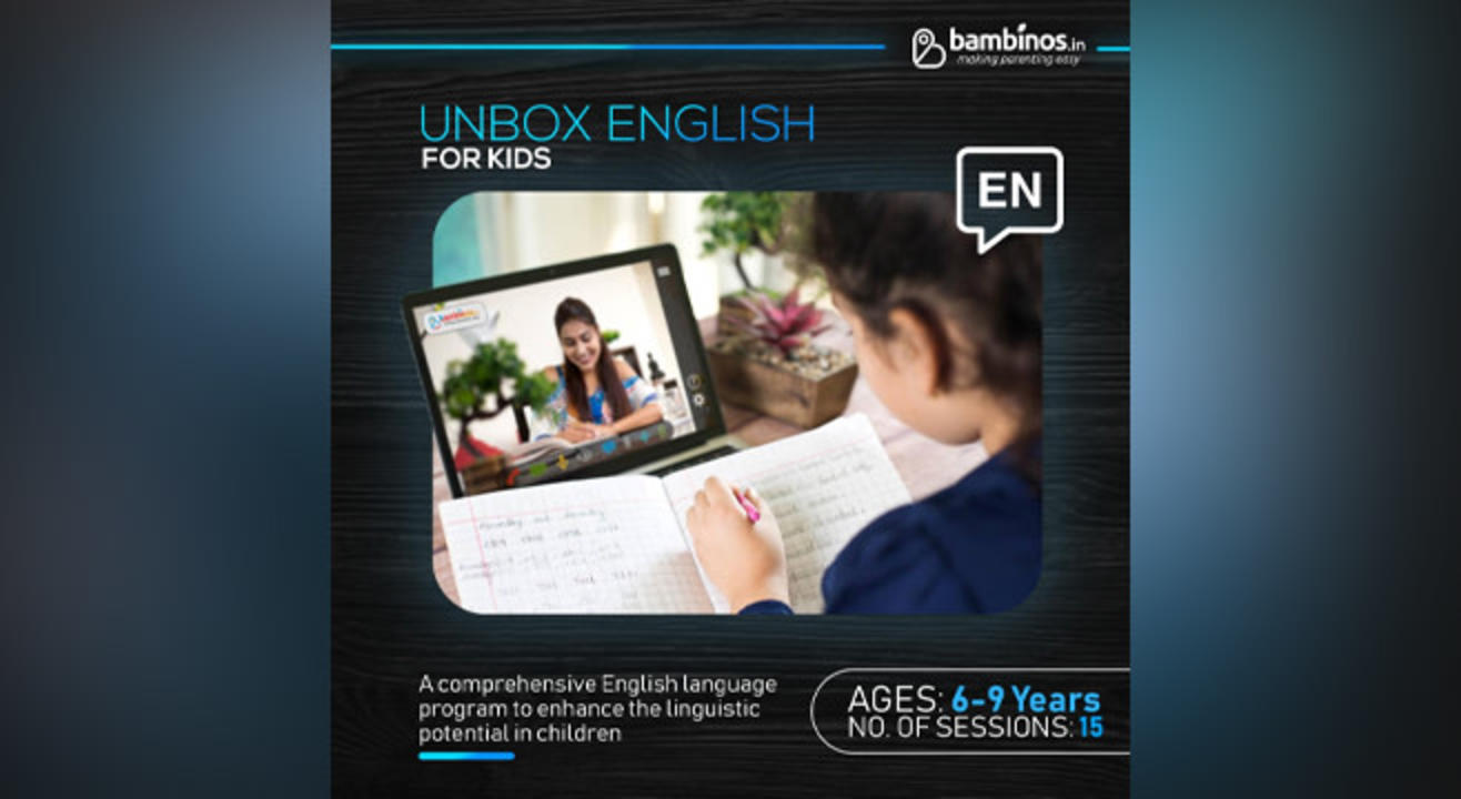 Unbox English Classes For Kids'