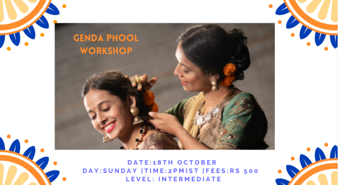 GENDA PHOOL |WORKSHOP |VAISHALI SAGAR
