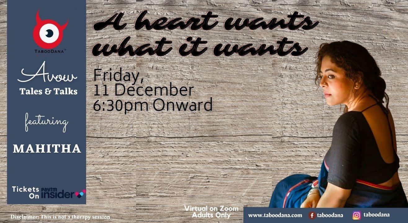 TD's Avow Edition 12 - Heart Rules - Mahitha