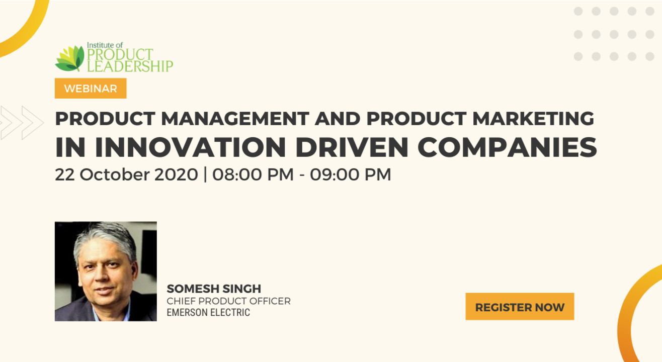 Product Management and Product Marketing in Innovation Driven Companies