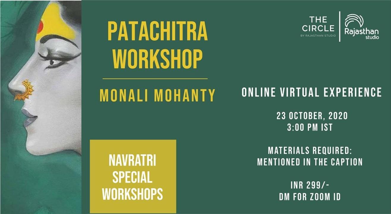 Navratri Specials - Patachitra Workshop by Rajasthan Studio