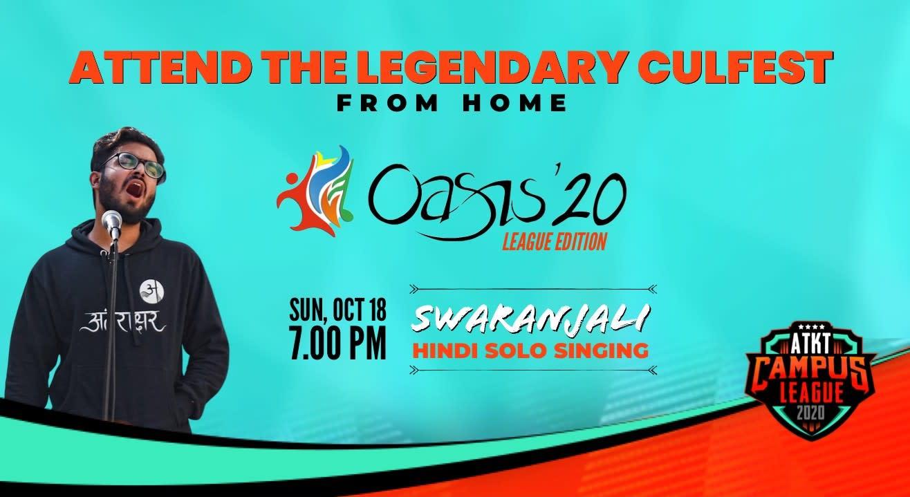 Swaranjali | Oasis 2020 | ATKT Campus League
