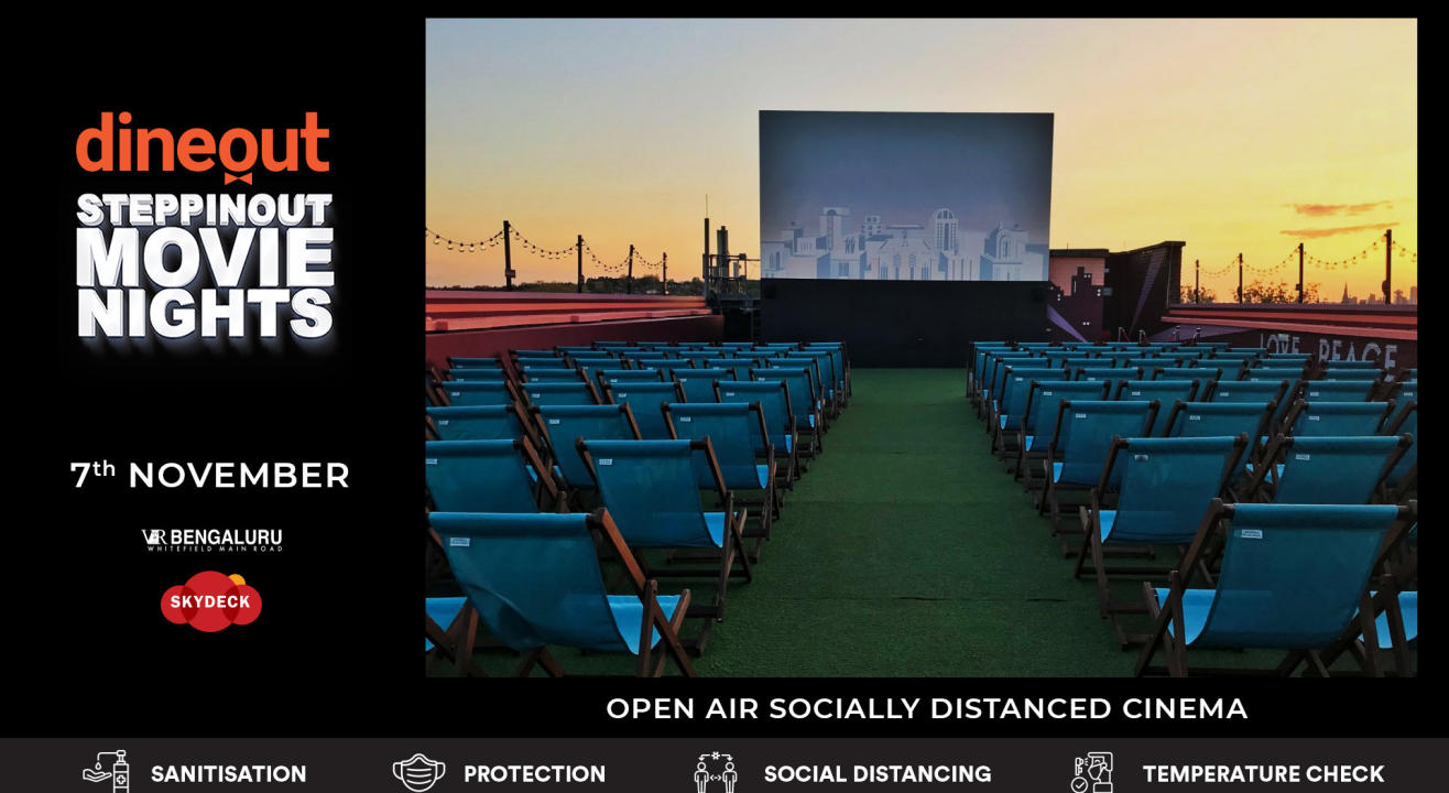 Dineout SteppinOut Movie Nights | Open Air Cinema | Superhero