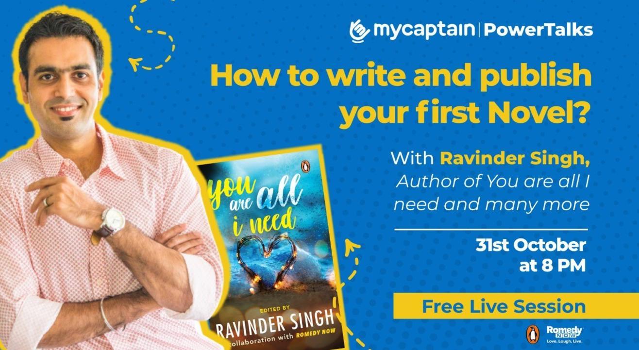 MyCaptain PowerTalks with Ravinder Singh!