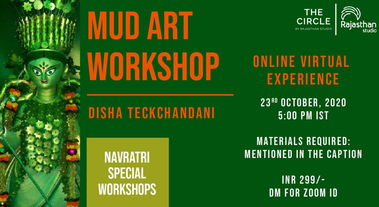 Navratri Specials - Mud Art Workshop by Rajasthan Studio