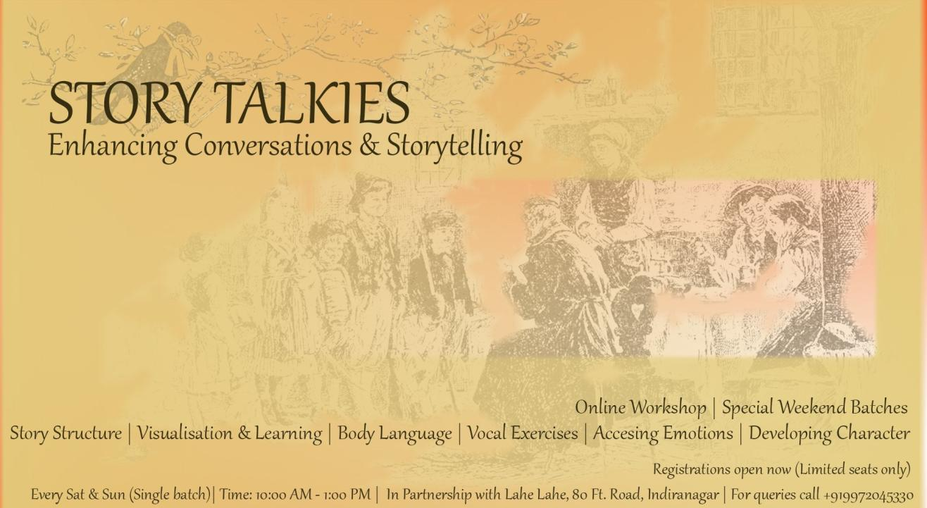 STORY TALKIES: STORIES IN COMMUNICATION