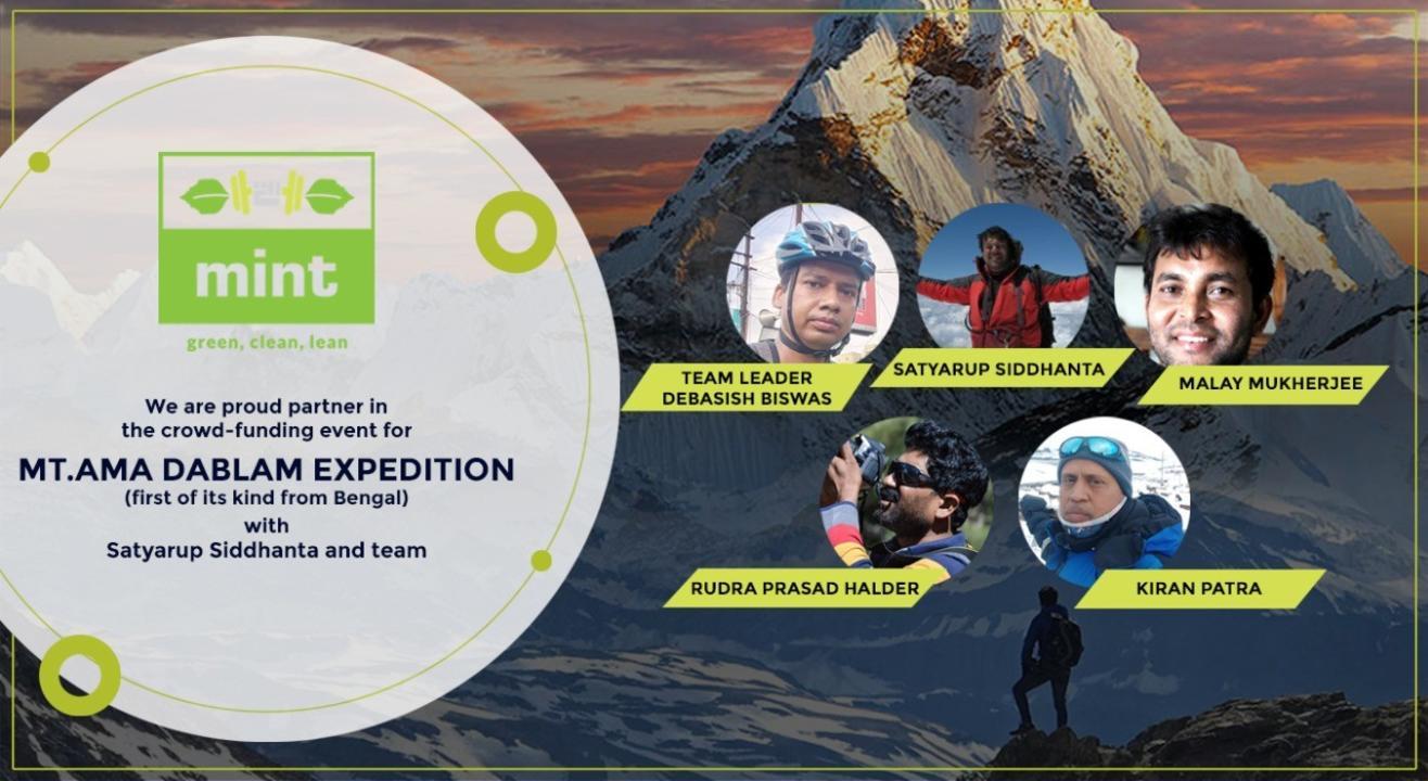 The Adventures of Mt Ama Dablam - A fund raiser