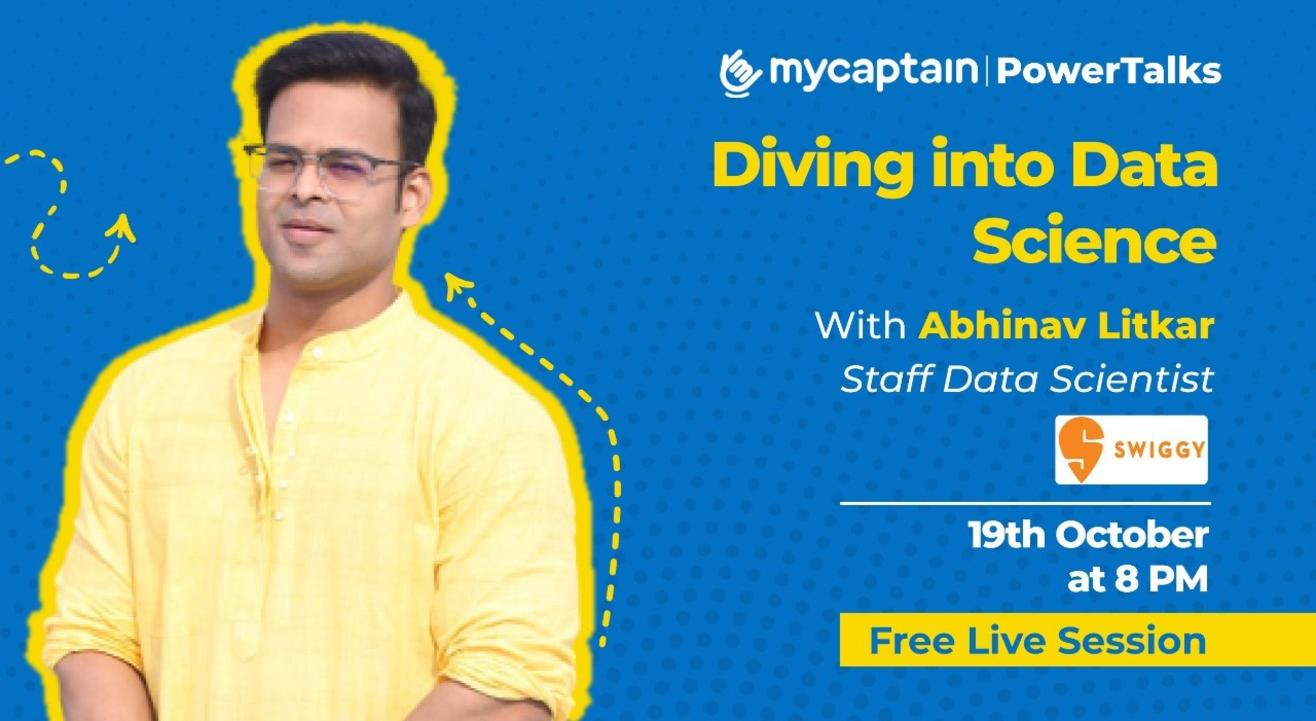 MyCaptain PowerTalks with Abhinav Litkar