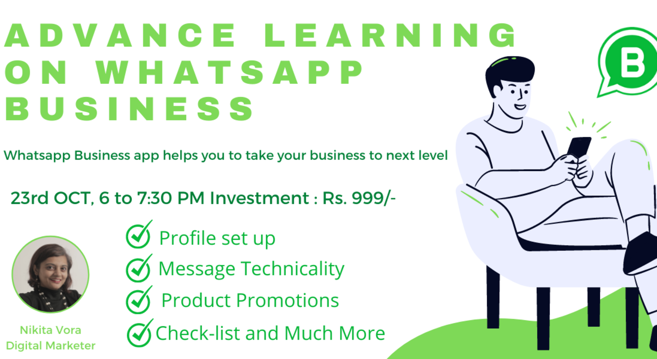 Advance Webinar on WhatsApp Business APP