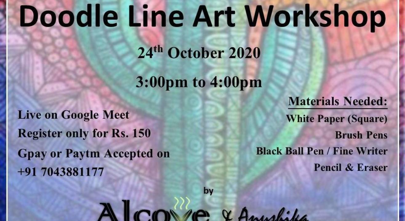 Doodle Line Art Workshop