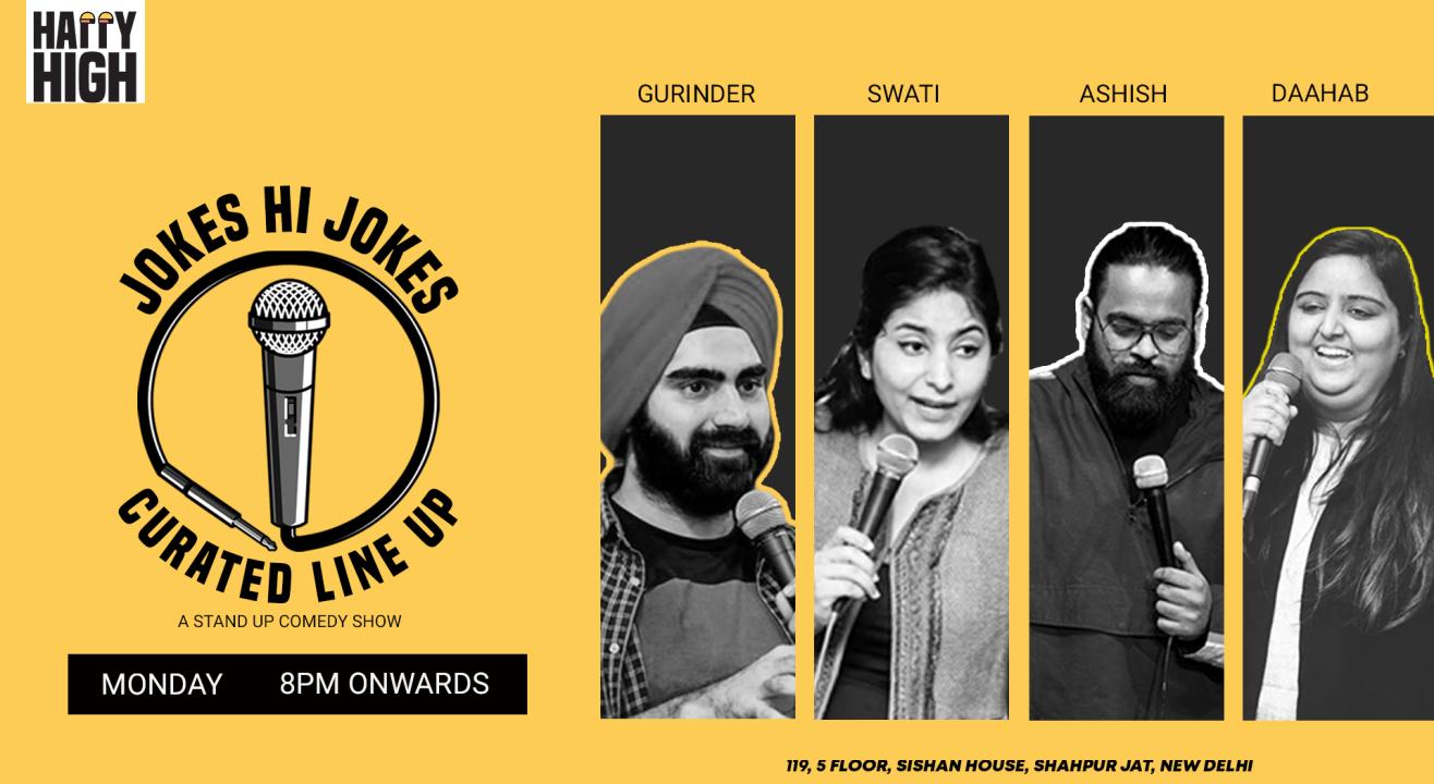 Jokes Hi Jokes Ft. Gurinder, Swati, Ashish & Daahab