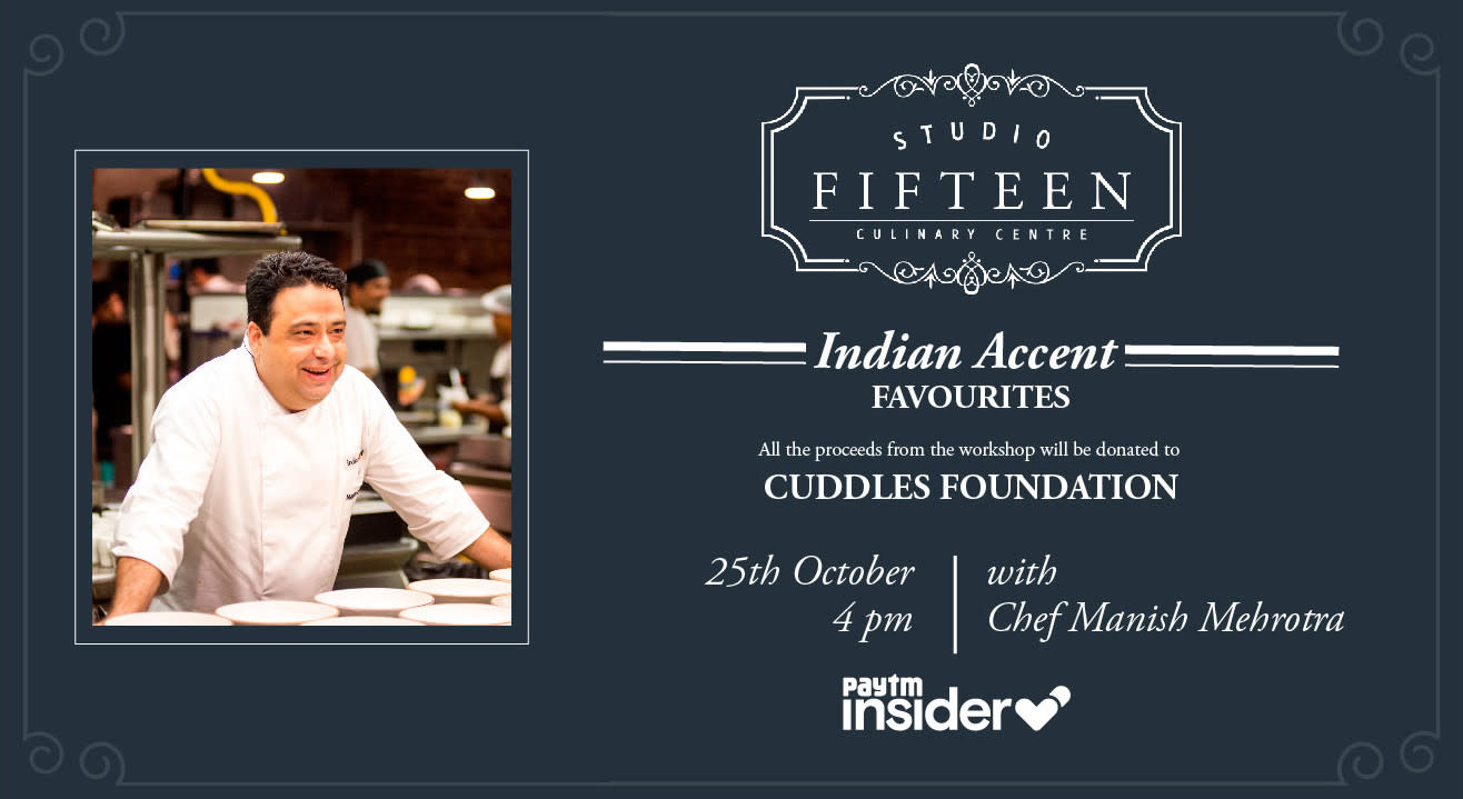 Studio Fifteen | Indian Accent Favourites with Chef Manish Mehrotra