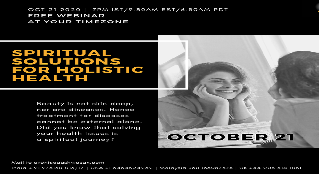 Spiritual Solutions for Holistic Health - Free Webinar