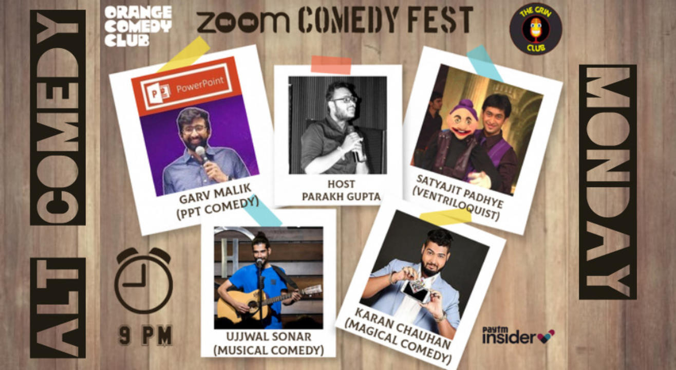 Alt Comedy Ft. Satyajit Padhye, Karan Chauhan, Garv Malik & Ujjwal Sonar