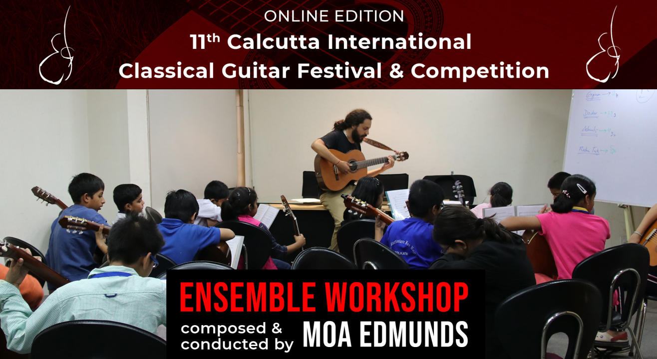 Classical Guitar Ensemble Workshop: Moa Edmunds