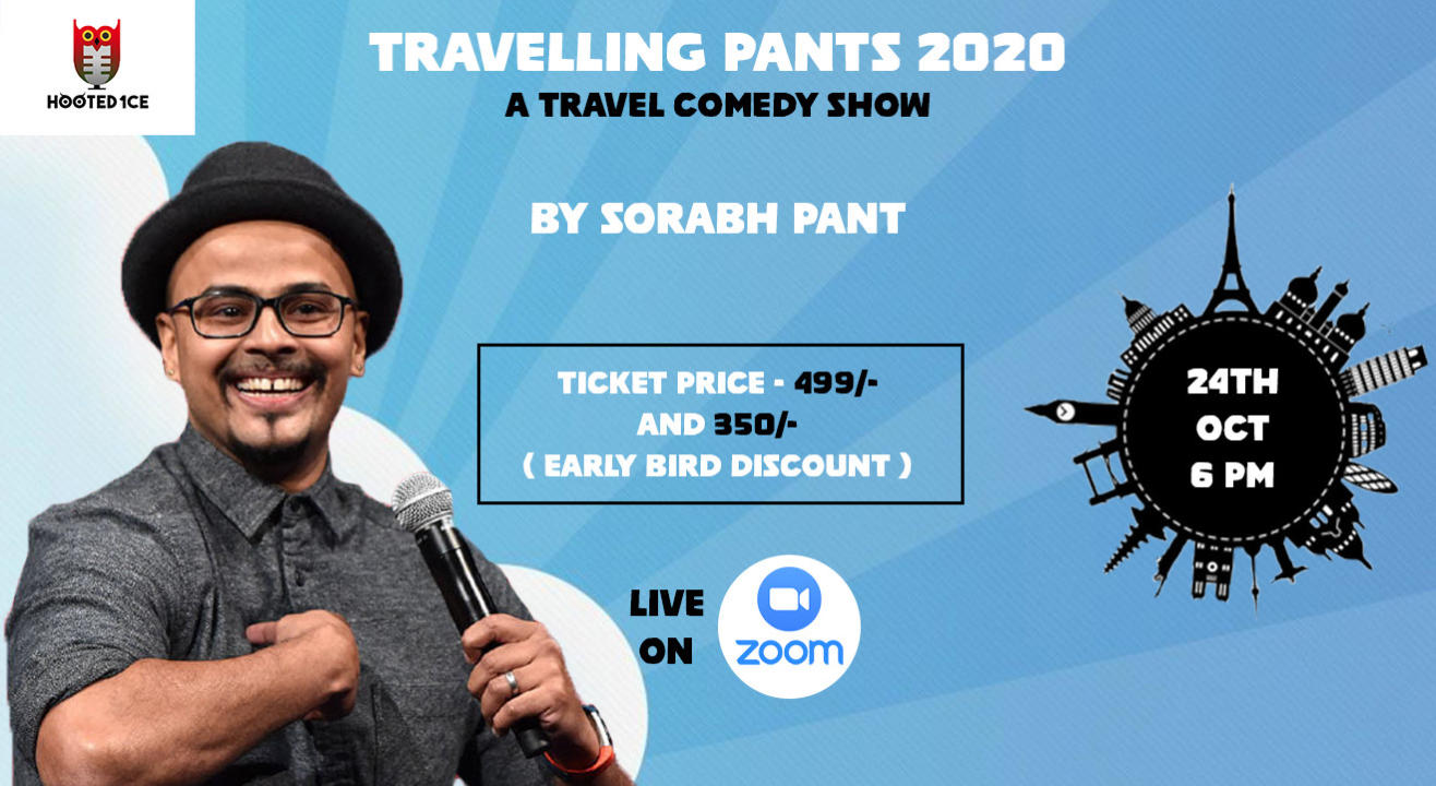 Travelling Pants 2020 - A Travel Comedy Show by Sorabh Pant