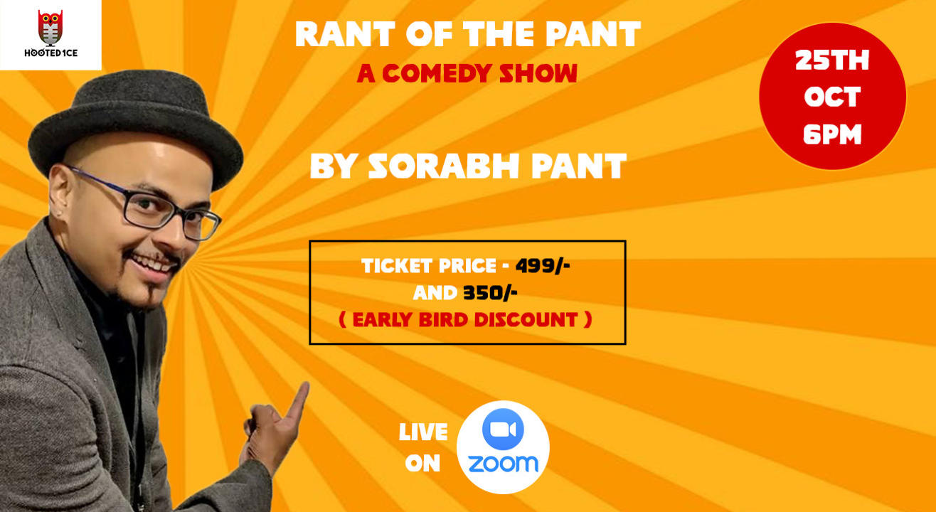 Rant of the Pant - A Comedy Show by Sorabh Pant