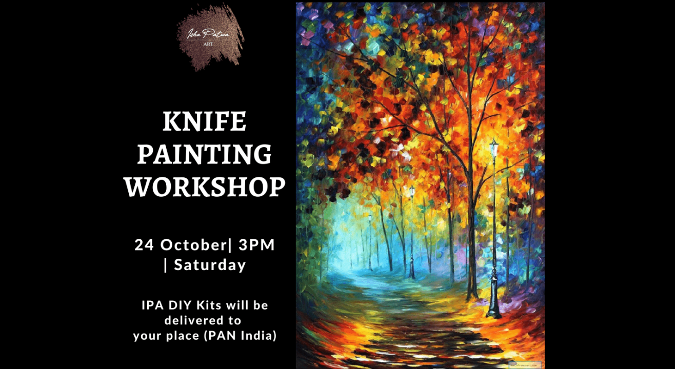 Knife Painting Workshop- IPA DIY Kit