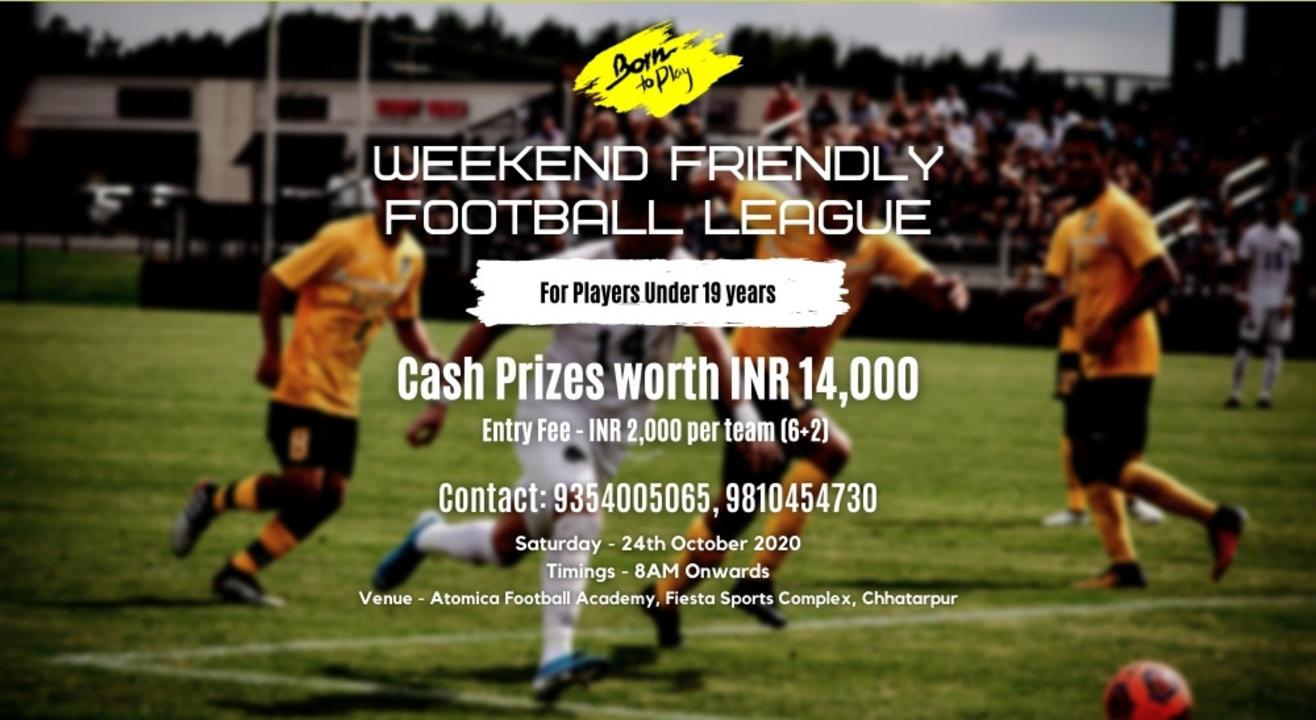 Weekend Friendly U-19 Boys Football League