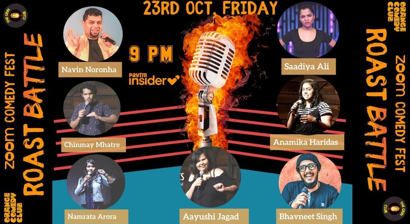 Roast Night Ft. Aayushi, Navin, Saadiya, Bhavneet, Chinmay, Namrata & Anamika