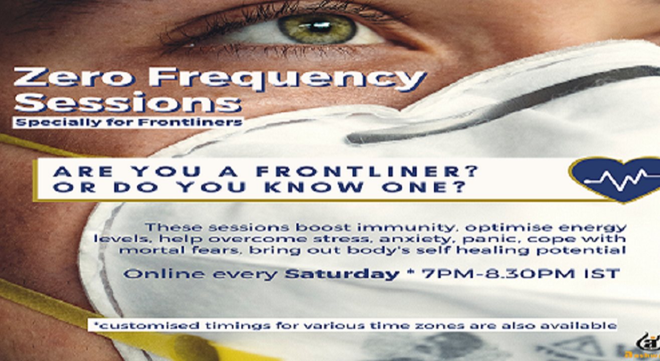 Zero Frequency Sessions for Frontliners
