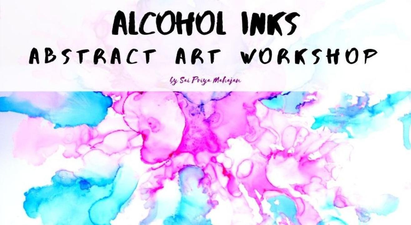 Alcohol Inks Abstract Art Workshop