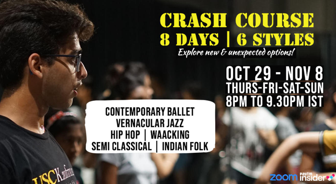 Dance Crash Course with Jainil Mehta | Open Level | 8 Days