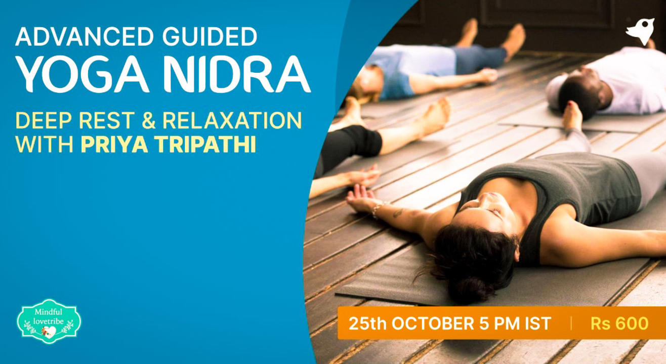 Advanced Guided Yoga Nidra : Gateway to Inner Calm