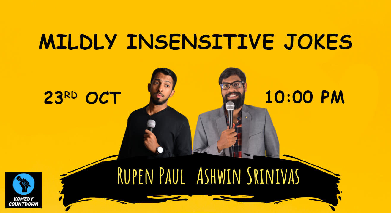 Mildly insensitive Jokes - An online comedy show