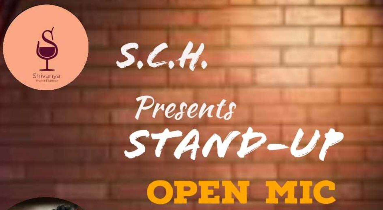 SHIVANYA COMEDY HOUSE ZOOM OPEN MIC AT 5PM