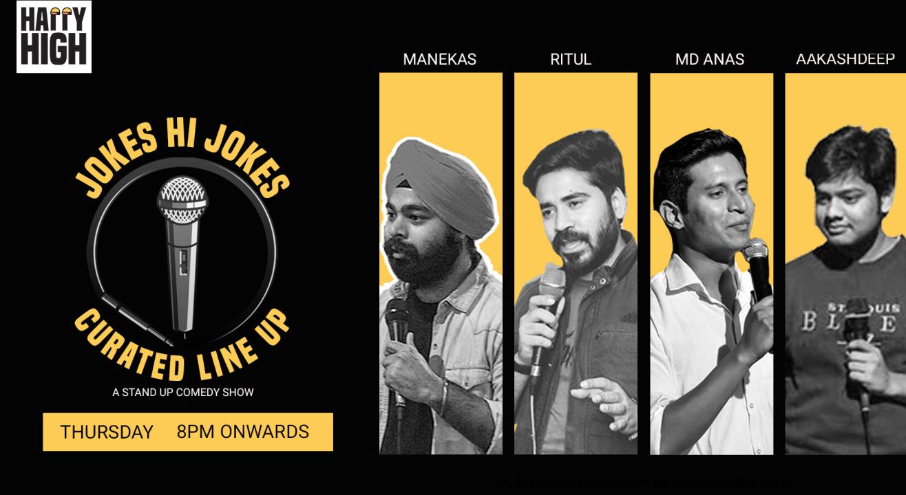 Jokes Hi Jokes Ft. Manekas, Ritul, MD Anas & Aakashdeep