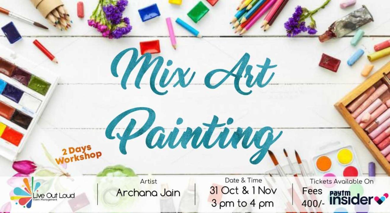 Mix Art Painting