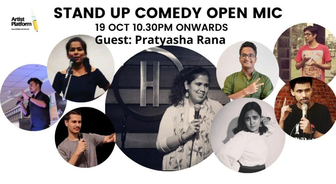 Stand Up Comedy - By Artist Platform