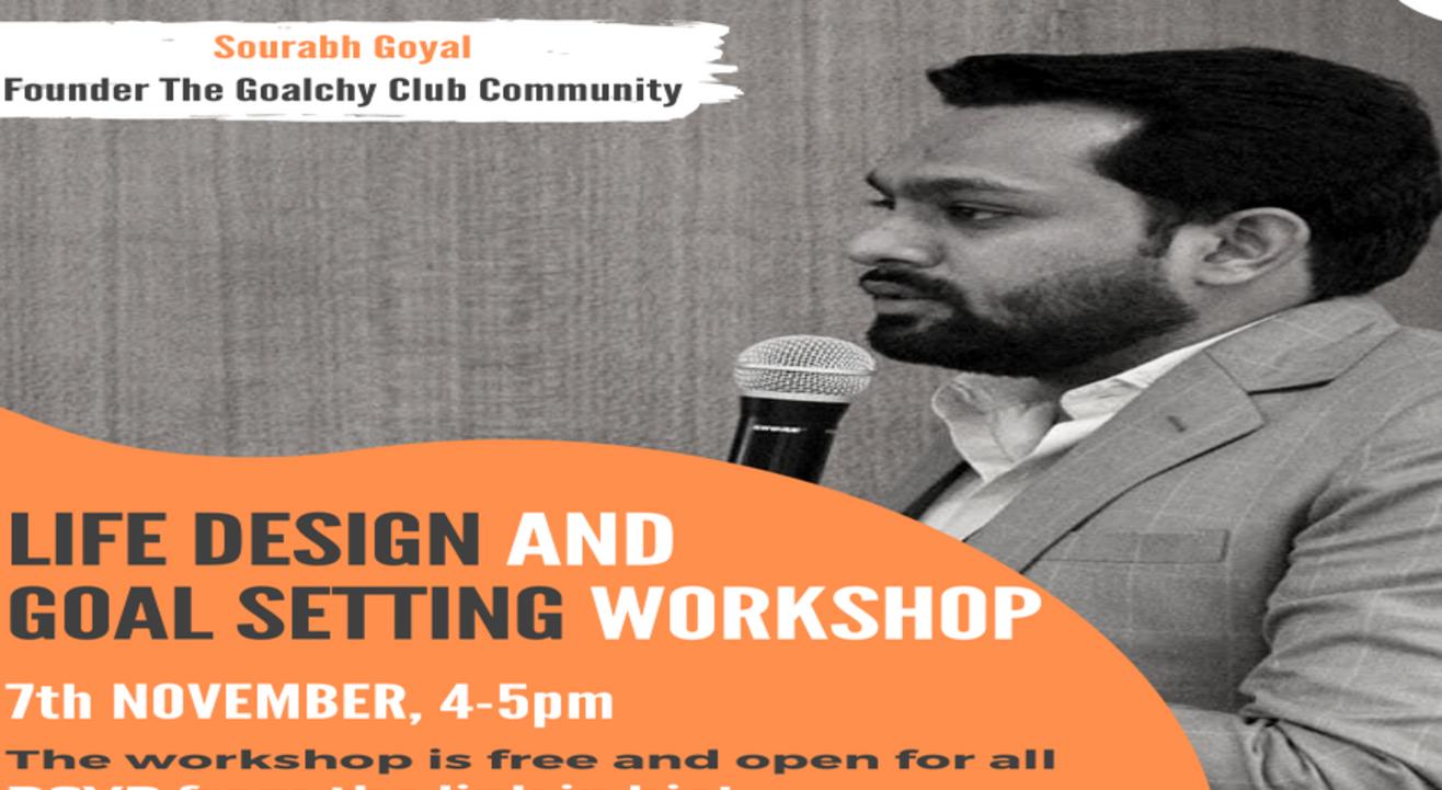 Life Design and Goal Setting Workshop