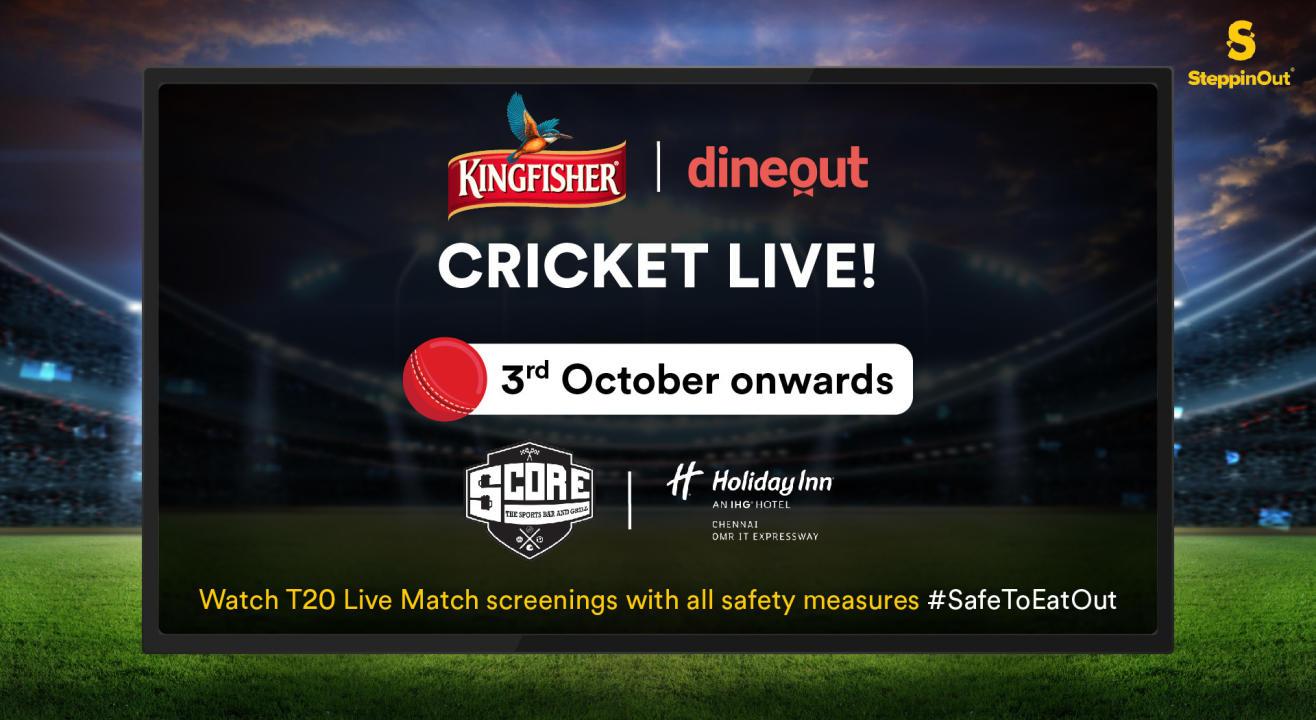 Kingfisher Cricket Live | Kolkata vs Delhi (Chennai)