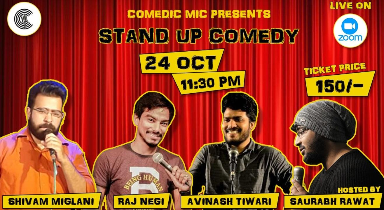 Comedic Line Up - A Stand Up Comedy Show