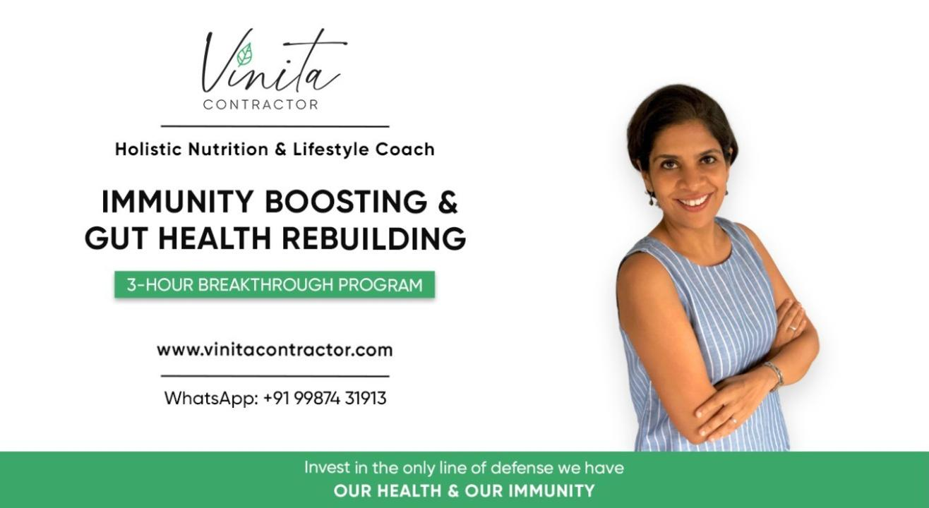 IMMUNITY BOOSTING & GUT HEALTH REBUILDING - 3 HOUR BREAKTHROUGH PROGRAM