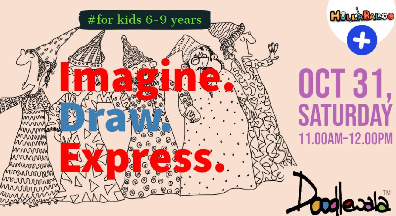 Doodling - Imagine & Draw