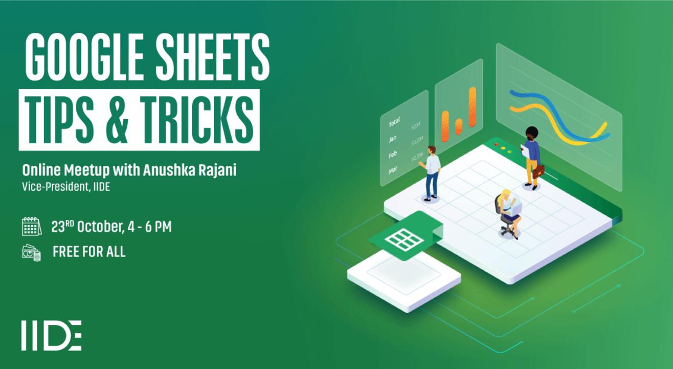Google Sheets: Tips & Tricks