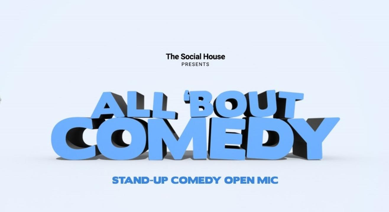 Comedy Open Mic - All 'Bout Comedy (Performer's Registration Only)