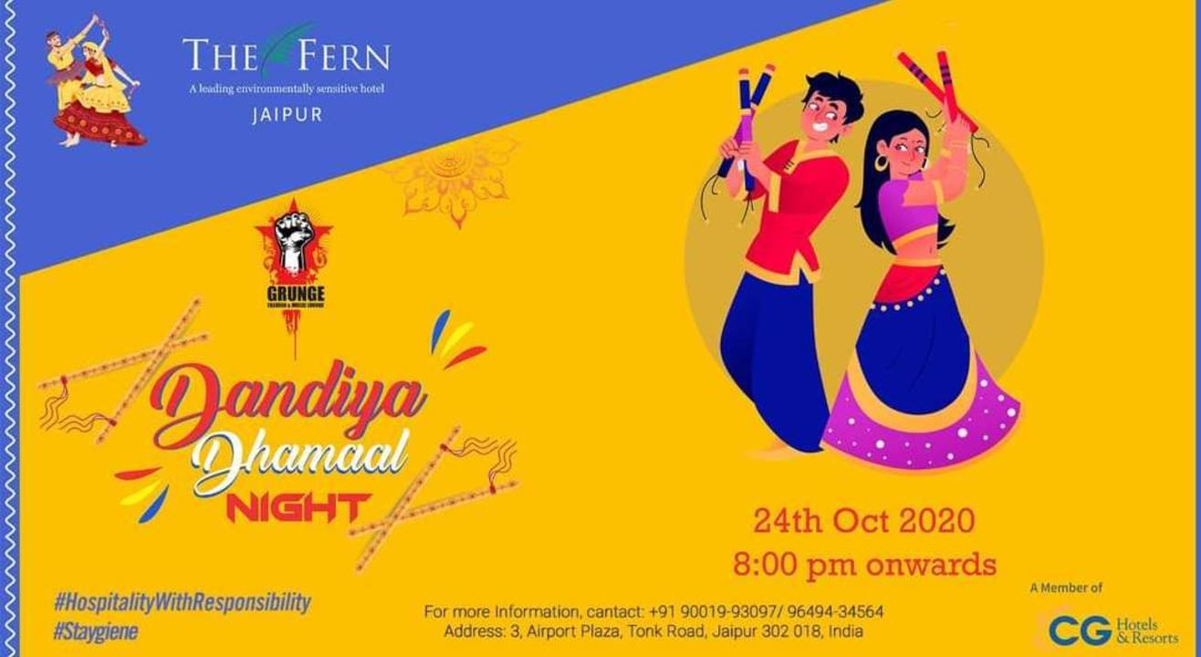 Dandiya Dhamaal Night @ The Fern Jaipur