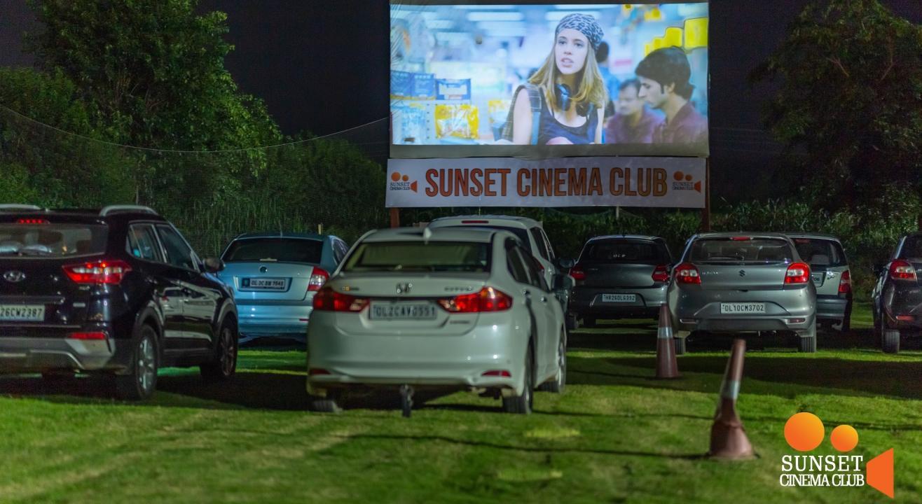 Drive-In Cinema – Opening Weekend
