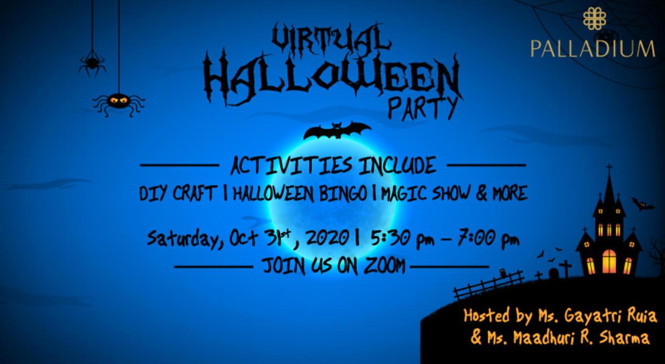 Palladium's Virtual Halloween Party for Kids