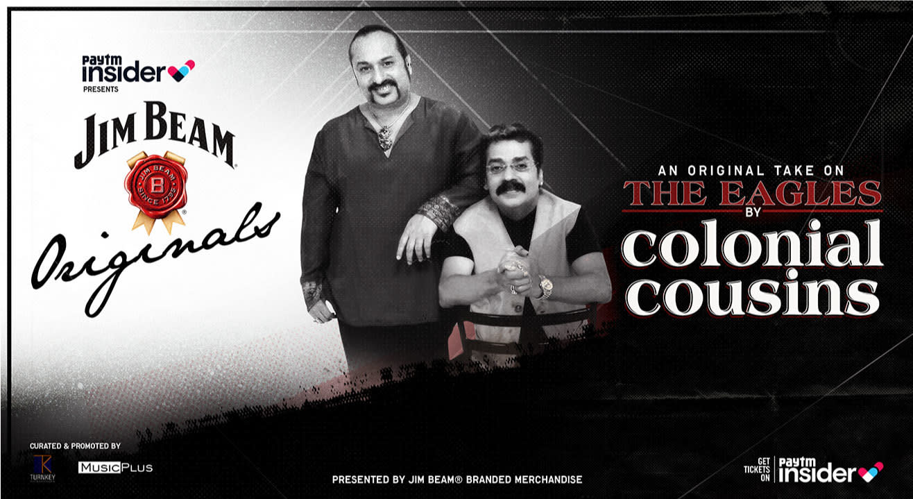 Colonial Cousins' original take on The Eagles | Paytm Insider presents Jim Beam Originals