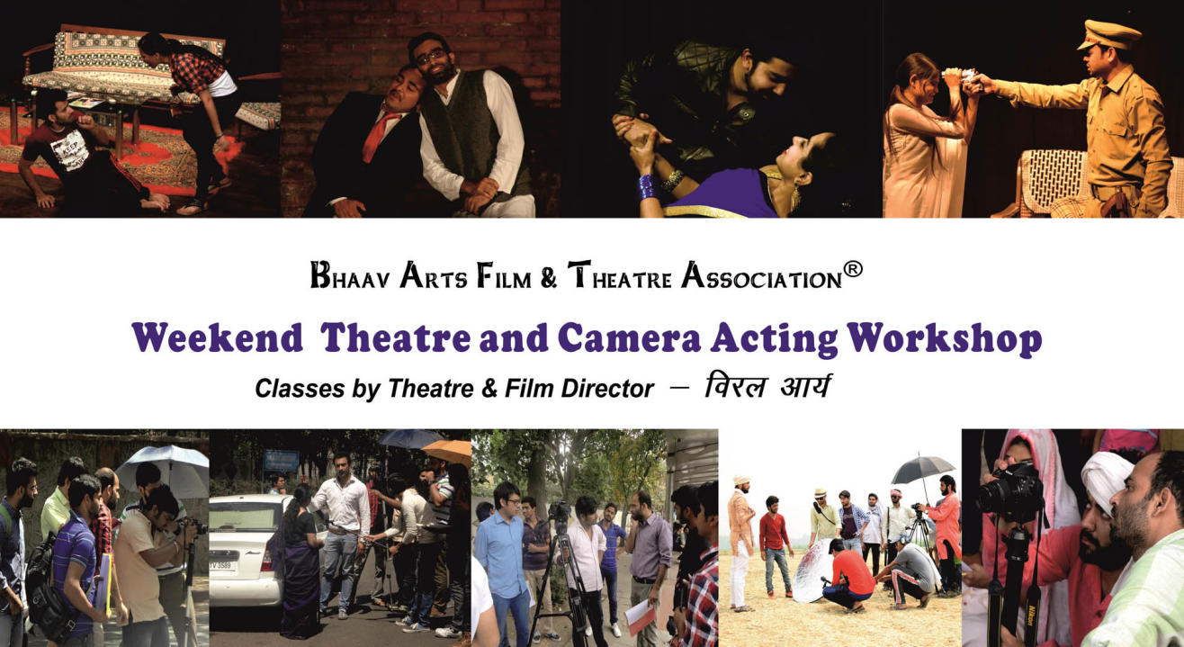 Weekend Theatre and Camera Acting Workshop