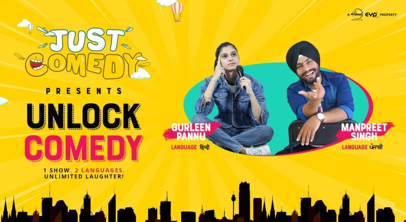 Just Comedy with Manpreet Singh & Gurleen Pannu