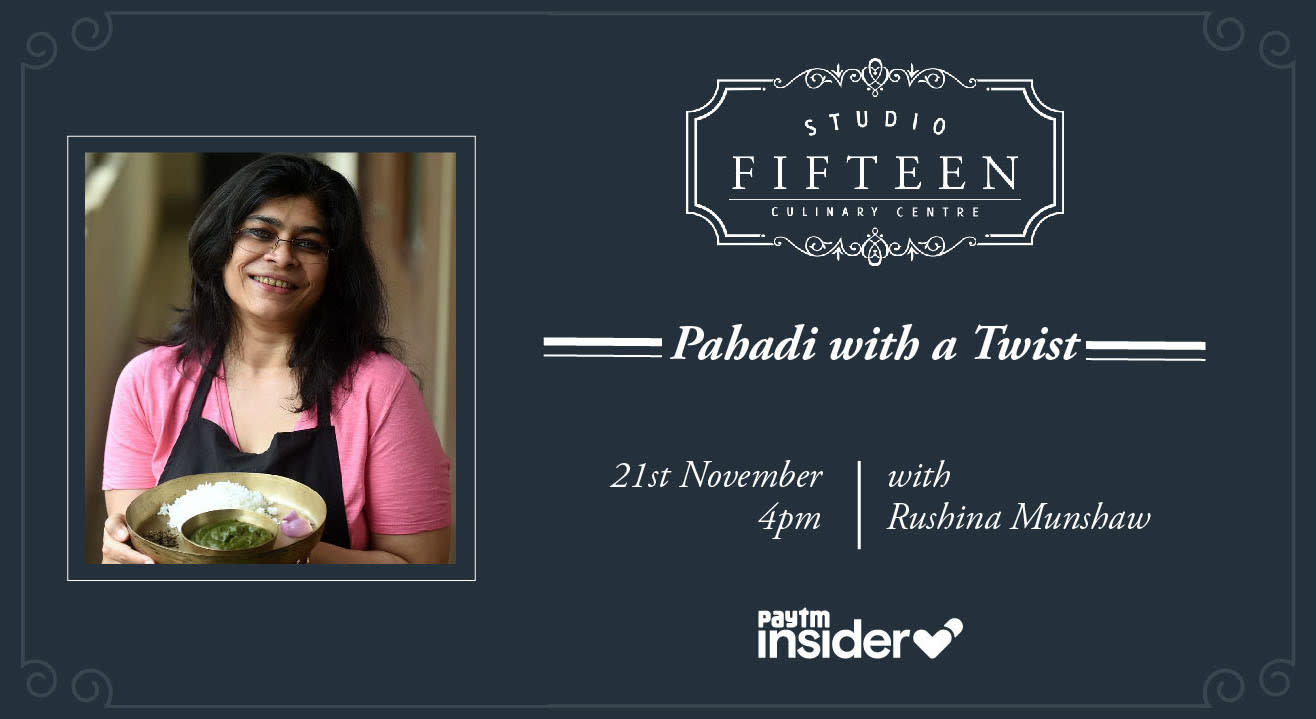 Studio Fifteen | Pahadi with a Twist with Rushina Munshaw