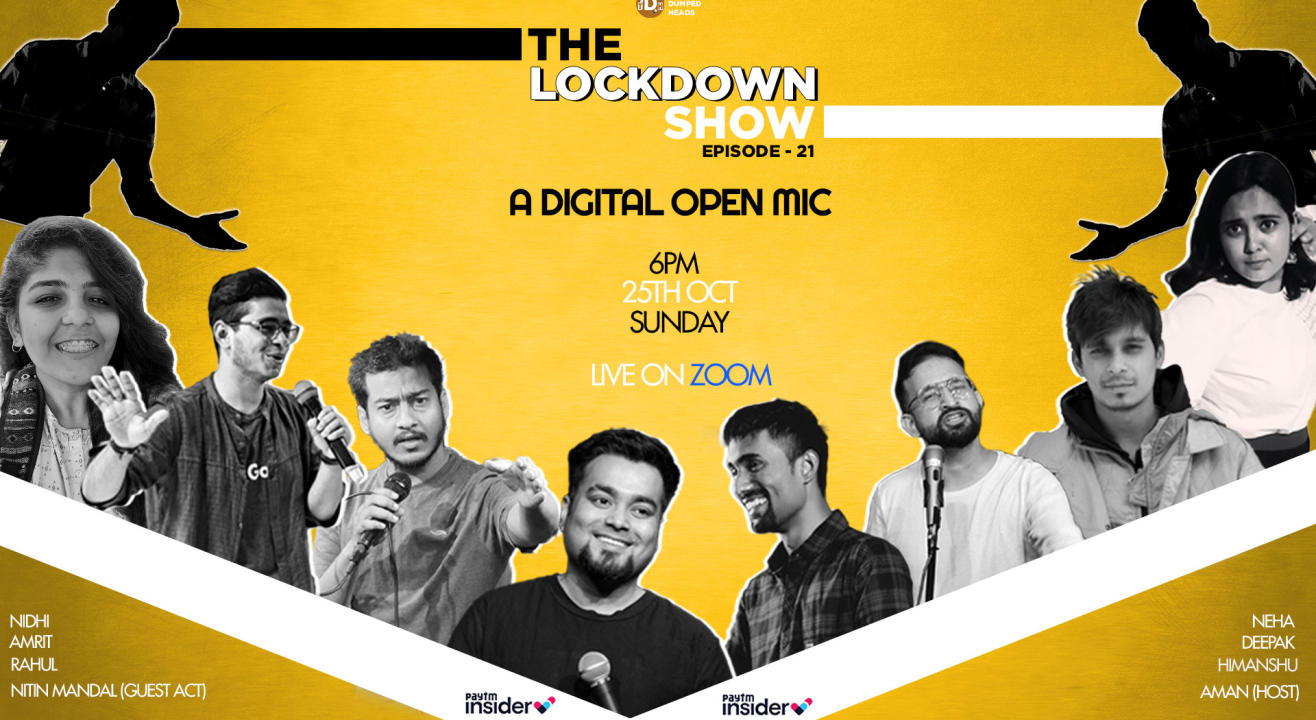 The Lockdown Show Episode:21(An hour filled with comedy)